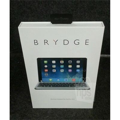 "Brydge BRY8002 Bluetooth Aluminum Keyboard Space Gray For 10.5"" iPad Pro"