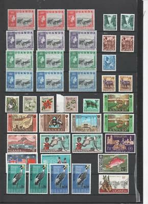Uganda Collection On 5 Pages