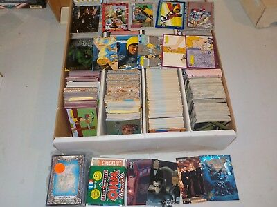 Huge 3,000 Ct. Box of Non Sports Cards w/ Complete Sets, DC Comics, Batman P60