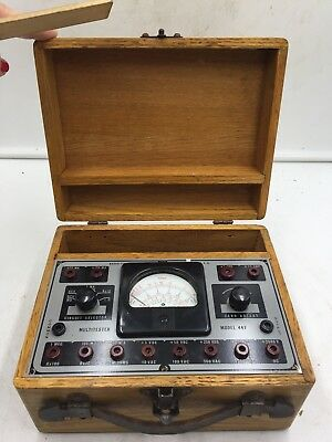 Estate Vintage Radio City Products (RCP) Model 447 MULTI TESTER Multitester