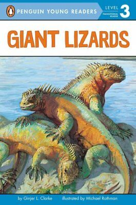 Giant Lizards by Ginjer L Clarke 9780448431208 (Paperback, 2005)