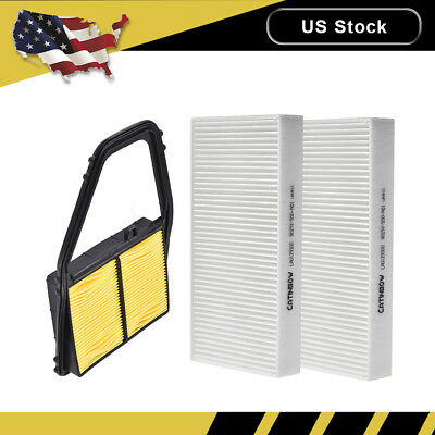 Combo set Engine and Cabin Air Filter for HONDA CIVIC 2001 2002 2003 2004 2005
