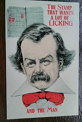 Lloyd George National Insurance Stamp Introduction Political Postcard