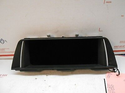 2015 BMW 550i GPS TV SCREEN 9321016 IC 01763 RH0199