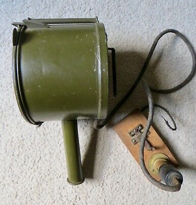 Wwii Vintage Army Signal Code Light