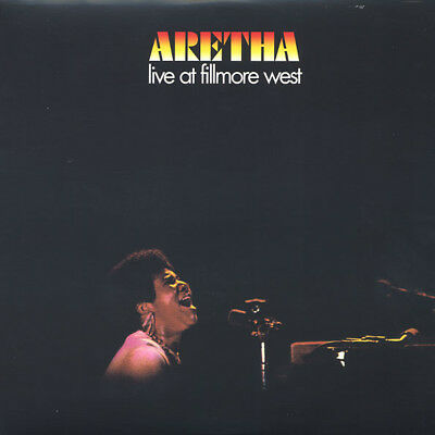 Aretha Franklin LIVE AT FILLMORE WEST 180gm Audiophile Grade Vinyl LP Record NEW