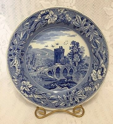 """The Spode Blue Room Collection Traditions Series Lucano 10.5"""" Plate"""