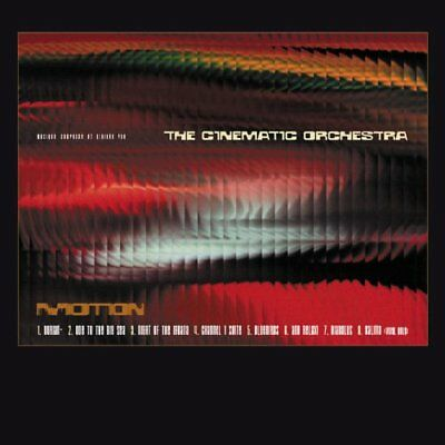 CINEMATIC ORCHESTRA Motion CD NEW 1999
