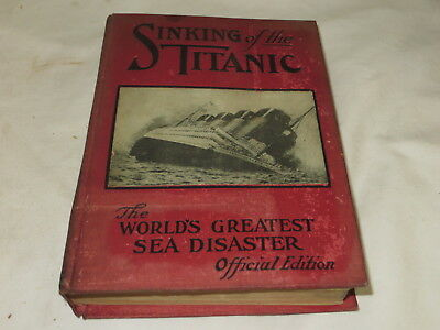 Vintage Sinking Of The Titanic - Thomas H. Russell 1912 Illustrated