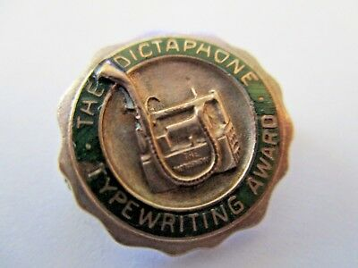 DICTAPHONE CO. Vintage Award Pin