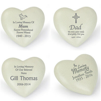 MY CAT  miss you so much   HEART  12Ccm X 12cm   Stone Grave Memorial Ornament