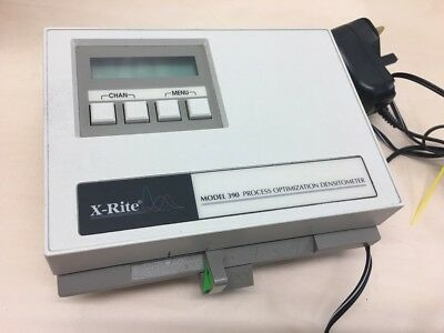 X-Rite Model 390 390U Process Optimization Densitometer