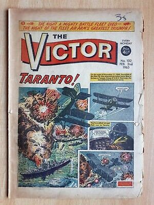 The Victor Comic No 102 2nd February 1963