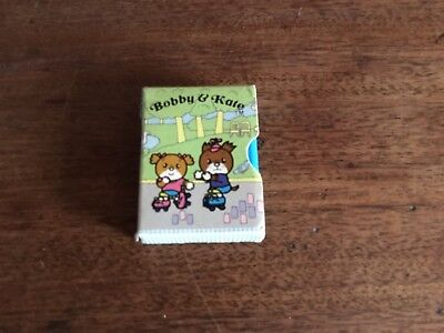 rare 1980's bobby and kate book eraser