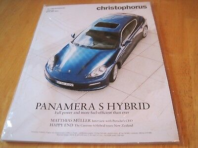 The Porsche Magazine Christophorus Panamera S Hybrid, April/May 2011 Issue 349