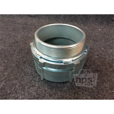 """Eaton Crouse-Hinds CPR10 4"""" Rigid R/T Connector, Threadless, Steel"""