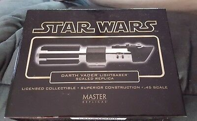 Star Wars Darth Vader .45 Scale  Lightsaber Master Replicas Anh  Nib.sw 306