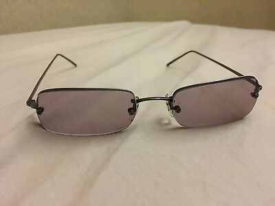 Oliver Peoples OP-2003 18-142 Sunglasses Metal Thin Frame Authentic