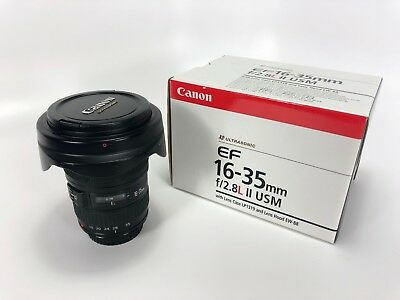 Canon EF 16-35mm f/2.8 L II USM Lens In Excellent Condition (Limited hours)