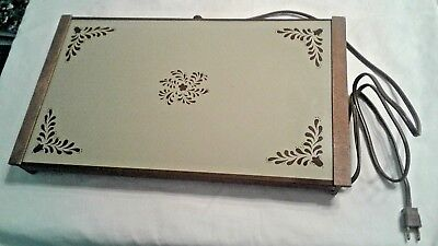 Vintage Cornwall Exeter Electric Tray Hot Plate Model 1461 Usa Works Great
