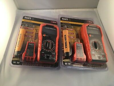 New In Box Sealed! Klein Tools - Electrical Test Kit 69149 - Mm300 Ncvt-1 Rt105