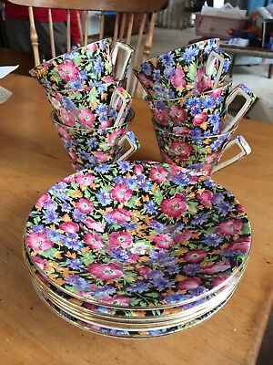 antique royalwinton majestic cup and saucer set