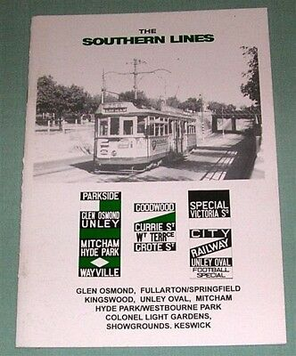 The Southern Lines, by N Smith & J Radcliffe, Sth Aust, SC book
