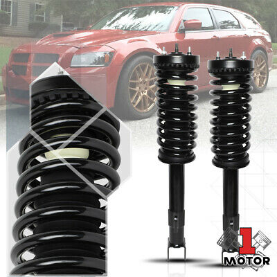 Full Set 2 Front Complete Struts Springs Mounts 2 Shocks Charger Magnum 300