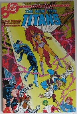 1985 The New Teen Titans #14   -   Vf                  (Inv19076)