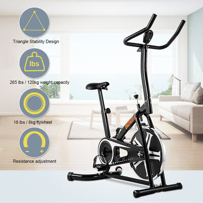 Exercise Bike Cycling Fitness Home Indoor Cardio Training Workout Health 2 color