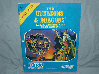 The Original Dungeons & Dragons 1st Ed - EXPERT RULEBOOK  (1981 First Printing!)