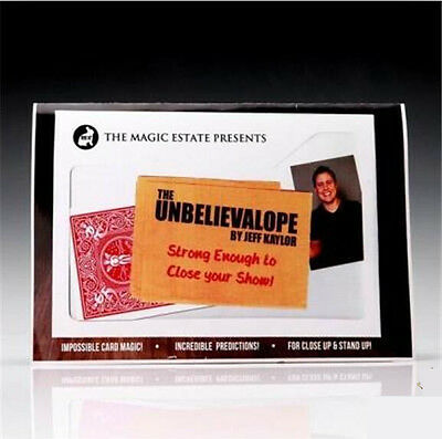 Unbelievalope by Jeff Kaylor - Magic TRICK,prophecy magic,Mentalism,Stage magic