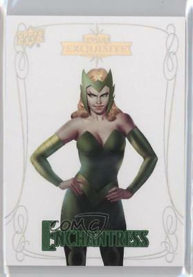 2016 Upper Deck Marvel Gems Exquisite #7 Enchantress /199 Non-Sports Card 2a8