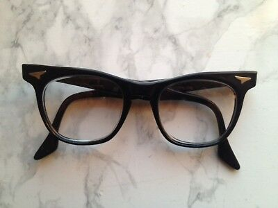 Safety Supply Vintage Glasses Black Thick Rimmed Bifocal