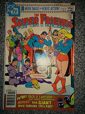 The Super Friends (DC Comics) #37 dated October 1980