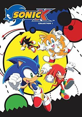 NEW Sonic X Complete Seasons 1 and 2 (2016) (DVD)