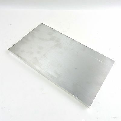 """.75"""" thick 6061 Aluminum PLATE  7.5"""" x 13.75"""" Long Solid Flat Stock sku 174702"""