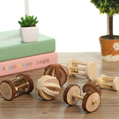 Mini Wood Exercise Chew Teeth Molar Toy for Rabbit Chinchilla Hamster Pet Newly