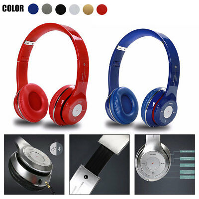 Over Cancelling Ear Headphones Noise Bluetooth With Wireless Headset Microphone
