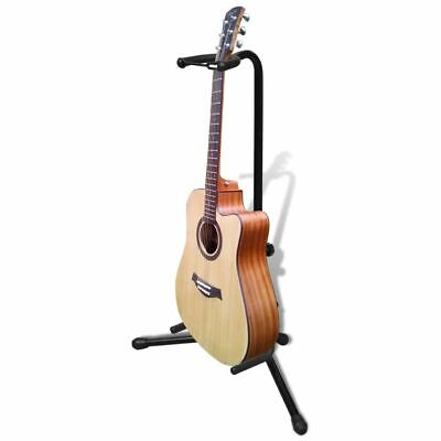 New Folding Electric Acoustic Guitar Stand Bass Holder Adjustable Floor Rack