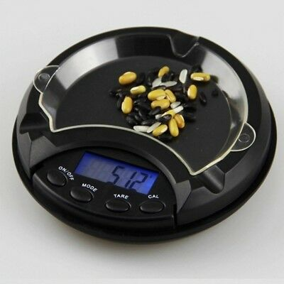 Ashtray Pocket Scale Mini Digital LCD Electronic Measure Gold Jewelry Weighing
