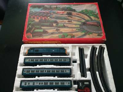 Vintage Hornby Train Set - COMPLETE VGC - Collectable