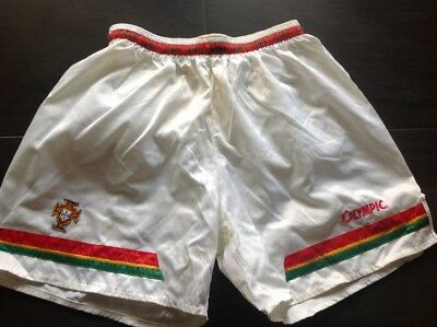 Portugal 1995/1996 alternative adidas football match worn shorts