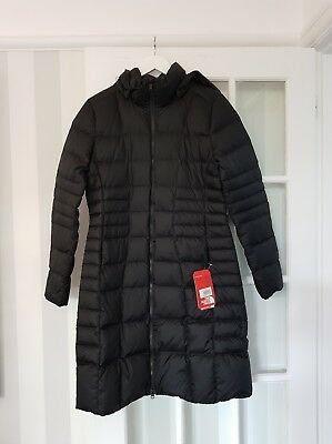 bdd355228c5e2 The North Face Womens Black Metropolis Parka Medium Brand New RRP £300