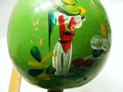 vintage MEXICO Souviner HAND PAINTED Maracas (JUST ONE)