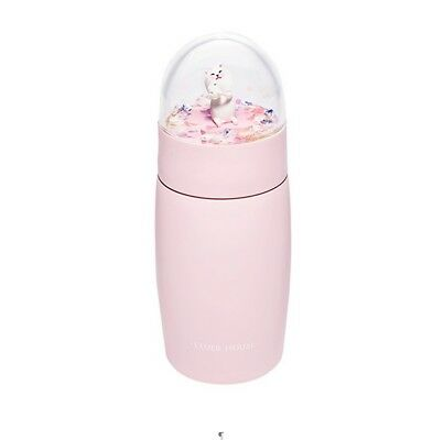 ETUDE HOUSE Sugar JamCherry Blossom Tumbler Cute Cat Home Bottle
