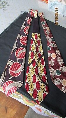 3-1930's 40's NECKTIES CUTTERS