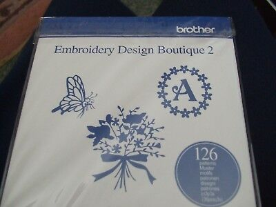 brother design boutique 2 cd rom for embroriary machines