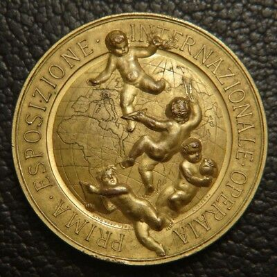 ITALIE Medaille Exposition Milano 1894