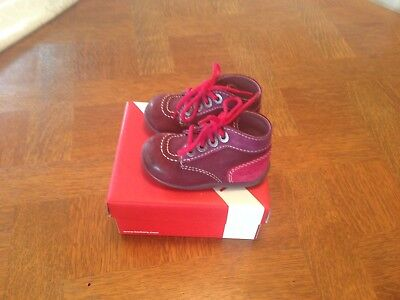 Fr Taille Picclick 00 Eur 15 Fille Owwgc Kickers 20 4qUg55